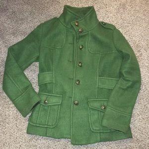 Forever Twentyone Green Coat